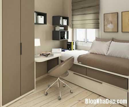 phong khach dep 51 Trang trí nội thất cho phòng ngủ nhỏ