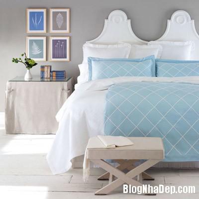 phong ngu 3 Trang trí nhà đẹp với màu xanh