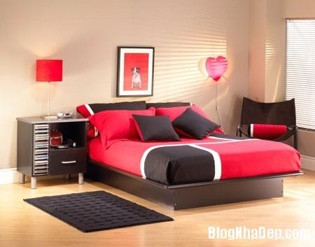 phong ngu ga1 Thiết kế nội thất không gian phòng ngủ