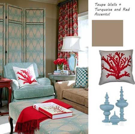 phong ngu nen na sac xanh 8 Nội thất phòng ngủ nền nã với sắc xanh