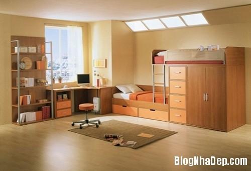phong tre em 03 Trang trí nội thất cho phòng ngủ nhỏ