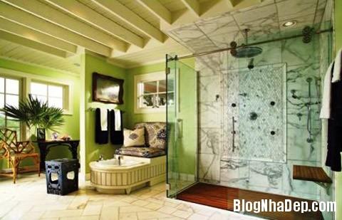 phong tam thiet ke kieu 4 Phong cách thiết kế phòng tắm mang hơi thở Bắc Âu