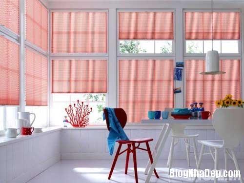rem cuon lam dep khong gian 2  Thiết kế nhà đẹp  với rèm cuốn