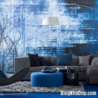 sac mau an tuong cho phong khach 11 Ấn tượng với các không gian sắc màu trong nội thất