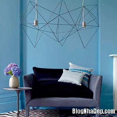 sac mau an tuong cho phong khach 12 Ấn tượng với các không gian sắc màu trong nội thất