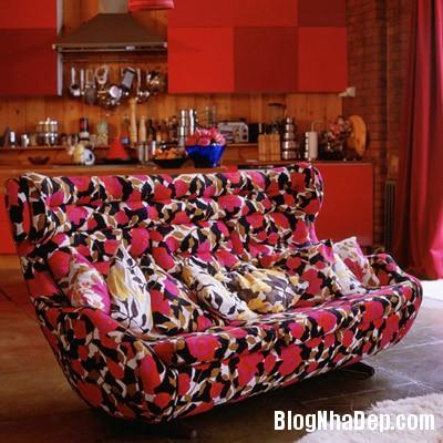 sac mau an tuong cho phong khach 5 Ấn tượng với các không gian sắc màu trong nội thất