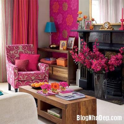 sac mau an tuong cho phong khach 6 Ấn tượng với các không gian sắc màu trong nội thất