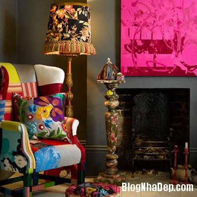 sac mau an tuong cho phong khach 7 Ấn tượng với các không gian sắc màu trong nội thất
