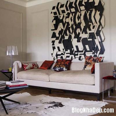 sac mau an tuong cho phong khach 8 Ấn tượng với các không gian sắc màu trong nội thất