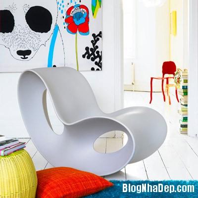 sac mau an tuong cho phong khach 9 Ấn tượng với các không gian sắc màu trong nội thất