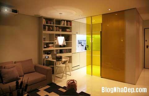small space bedroom11 Closet House   Căn hộ nhỏ bé được thiết kế thông minh