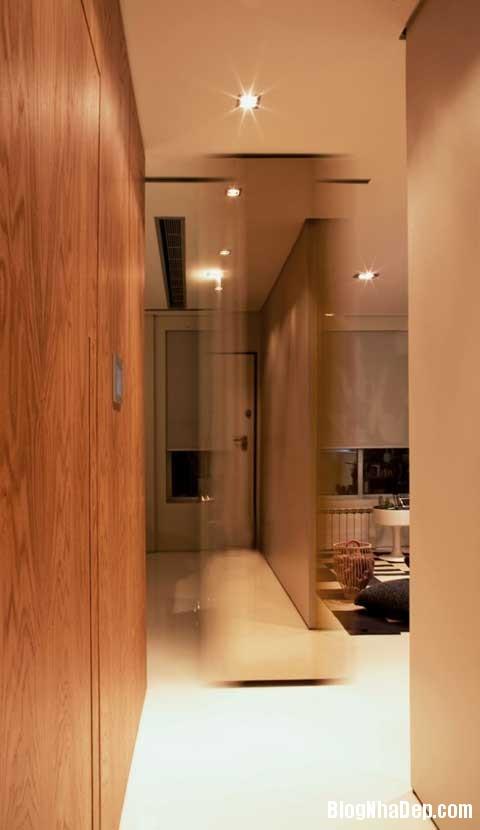 small space bedroom51 Closet House   Căn hộ nhỏ bé được thiết kế thông minh