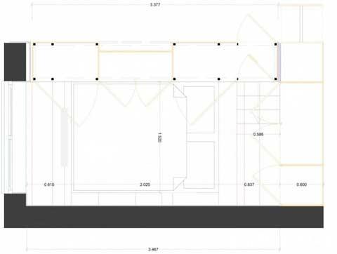 small space bedroomc1 Closet House   Căn hộ nhỏ bé được thiết kế thông minh