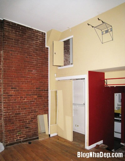 sua nha11 Cải tạo không gian sống thoáng đãng trong căn hộ cũ kỹ ở New York