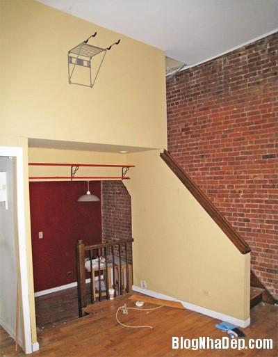 sua nha21 Cải tạo không gian sống thoáng đãng trong căn hộ cũ kỹ ở New York