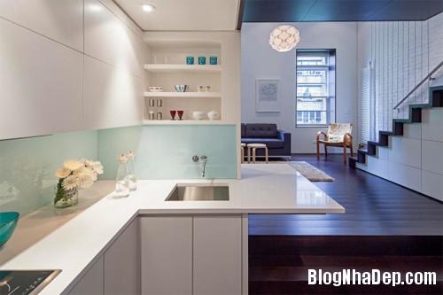 sua nha5 Cải tạo không gian sống thoáng đãng trong căn hộ cũ kỹ ở New York