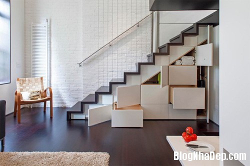 sua nha7 Cải tạo không gian sống thoáng đãng trong căn hộ cũ kỹ ở New York
