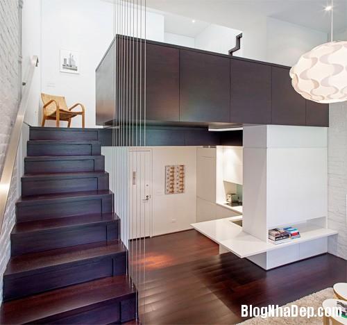 sua nha9 Cải tạo không gian sống thoáng đãng trong căn hộ cũ kỹ ở New York