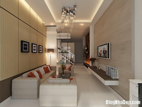 thiet ke noi that phong khach cho kieu nha pho hien dai 4 jp Những mẫu thiết kế nội thất phòng khách ấn tượng