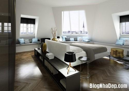 thiet ke phong ngu 10 Phong cách phòng ngủ ngọt ngào lãng mạn