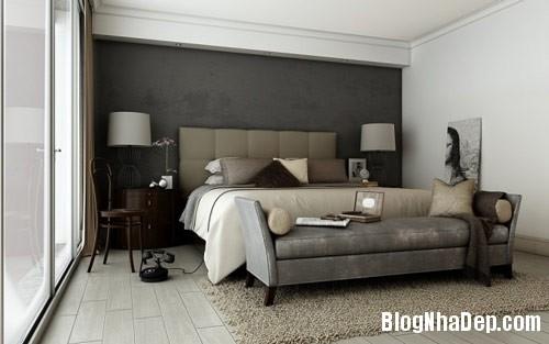 thiet ke phong ngu 5 Phong cách phòng ngủ ngọt ngào lãng mạn