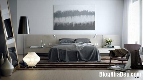 thiet ke phong ngu 6 Phong cách phòng ngủ ngọt ngào lãng mạn