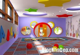 thiet ke noi that phong tre em 5 Thiết kế phòng ngủ phù hợp cho bé