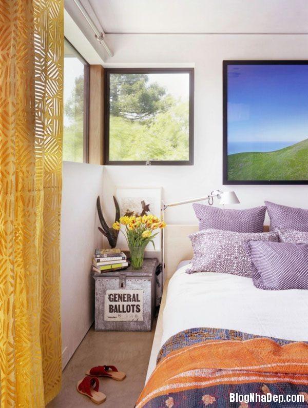 tim oai huong gam mau tuyet voi cho khong gian song5 Không gian nội thất quyến rũ với màu tím oải hương