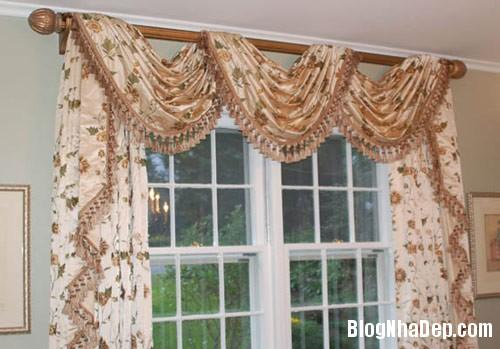 treo rem cho phong ngu 4 Những mẫu rèm cửa đẹp