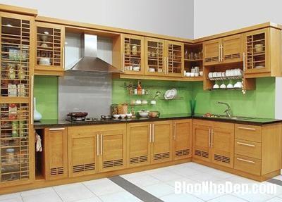 tu bep Thiết kế không gian bếp đẹp cho nhà bạn