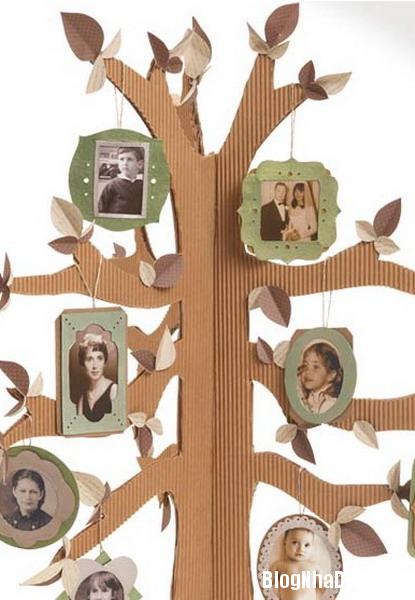 tuong nha an tuong voi cay anh gia dinh 9 Độc đáo với cây ảnh gia đình đầy yêu thương