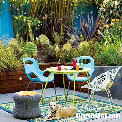 y tuong thiet ke patio nha ban 4 Ý tưởng thiết kế đẹp hoàn hảo cho patio nhà bạn