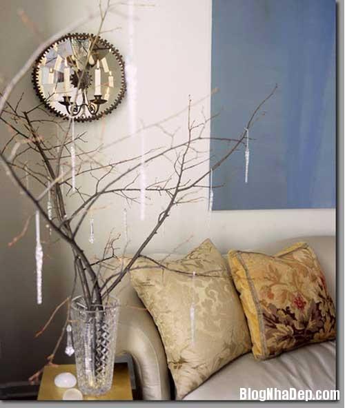 y tuong thu vi trang tri nha voi canh cay 3 Trang trí cành cây cho ngôi nhà thêm độc đáo