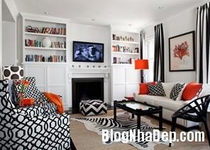 095433baoxaydung image007 Căn hộ quyến rũ với nội thất gam màu đen   trắng