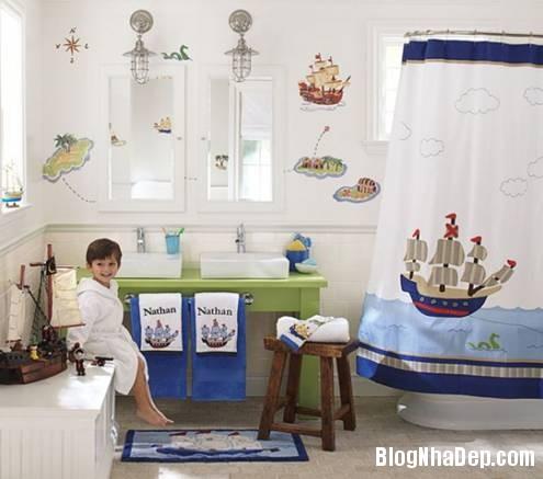 1 Thiết kế phòng tắm cho trẻ