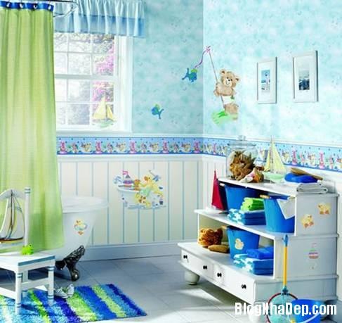 11 Thiết kế phòng tắm cho trẻ
