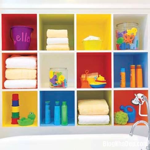 13 Thiết kế phòng tắm cho trẻ