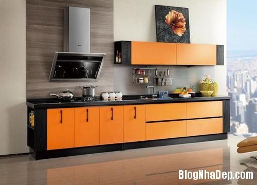 130847baoxaydung 16 Những mẫu tủ bếp chữ I xinh đẹp cho phòng bếp