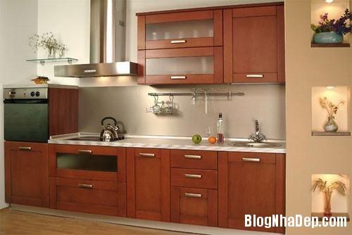130847baoxaydung 17 Những mẫu tủ bếp chữ I xinh đẹp cho phòng bếp
