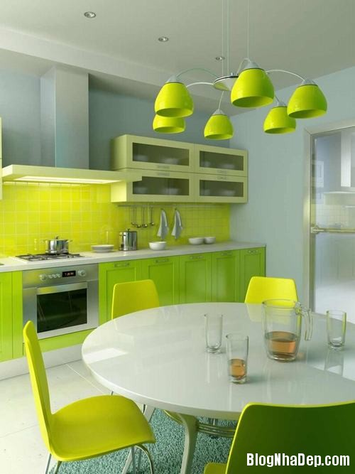 130847baoxaydung 18 Những mẫu tủ bếp chữ I xinh đẹp cho phòng bếp