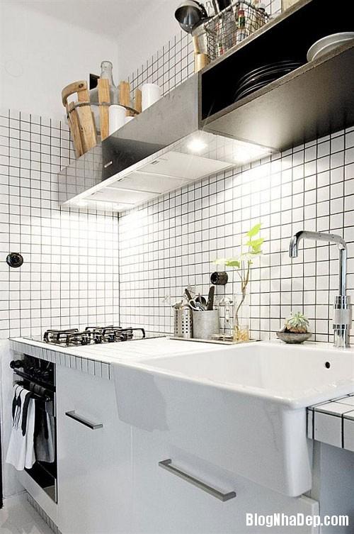 1403662647 4 Gian bếp tiện nghi rộng rãi trong căn hộ 39m2