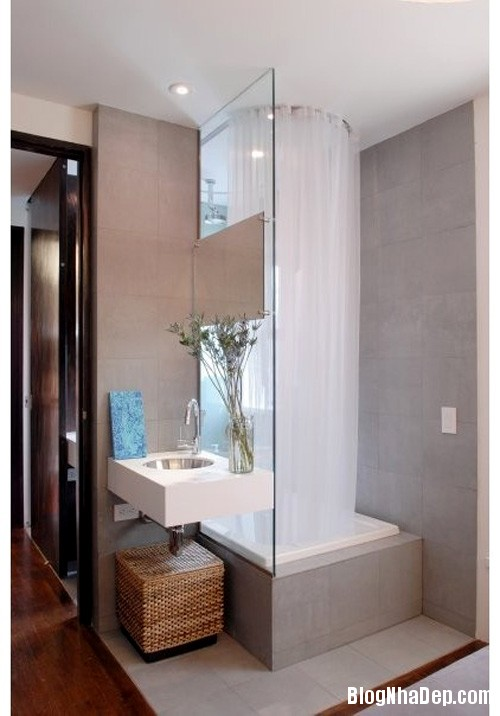 1405067275 2 Những mẹo nhỏ khiến không gian phòng tắm trở nên cuốn hút hơn