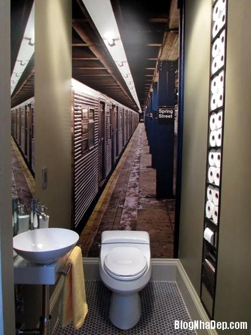 1405067275 5 Những mẹo nhỏ khiến không gian phòng tắm trở nên cuốn hút hơn