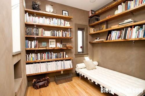 1405302728 6 Giá gỗ mộc mạc và duyên dáng tô điểm trên tường