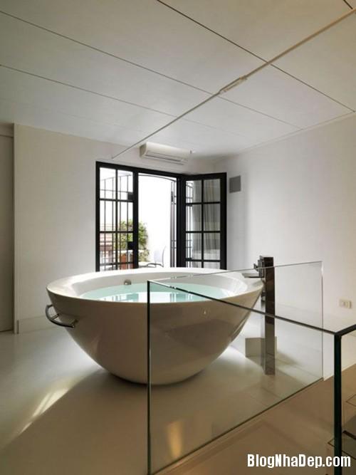 1405409232 8 Sành điệu với mẫu bồn tắm tròn