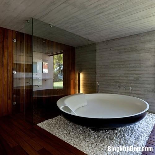 1405409232 9 Sành điệu với mẫu bồn tắm tròn