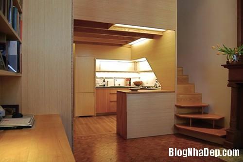 1405462562 1 Căn hộ 22m2 có phòng bếp gác xếp và phòng đọc sách