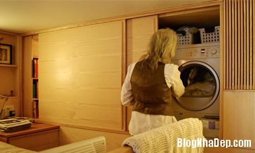 1405462562 4 Căn hộ 22m2 có phòng bếp gác xếp và phòng đọc sách