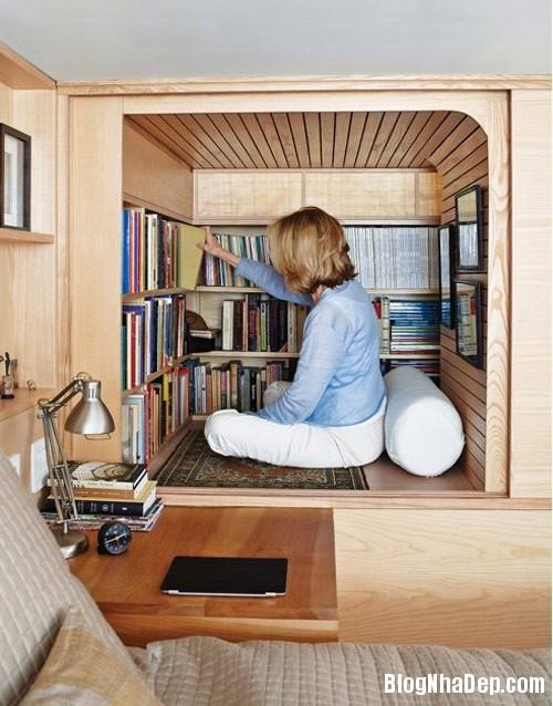 1405462562 5 Căn hộ 22m2 có phòng bếp gác xếp và phòng đọc sách