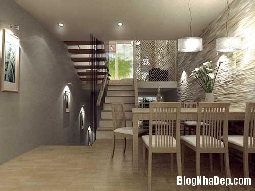 141511baoxaydung 23 Thiết kế giếng trời tạo điểm nhấn cho ngôi nhà